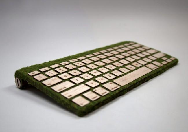Un teclado muy natural